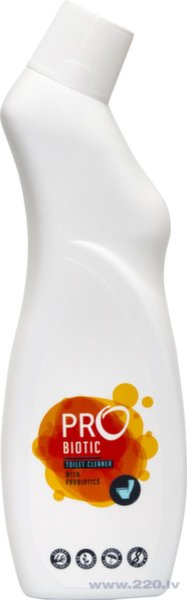 Tualetes tīrīšanas līdzeklis PROBIOTIC, 750 ml cena un informācija | Tīrīšanas līdzekļi | 220.lv