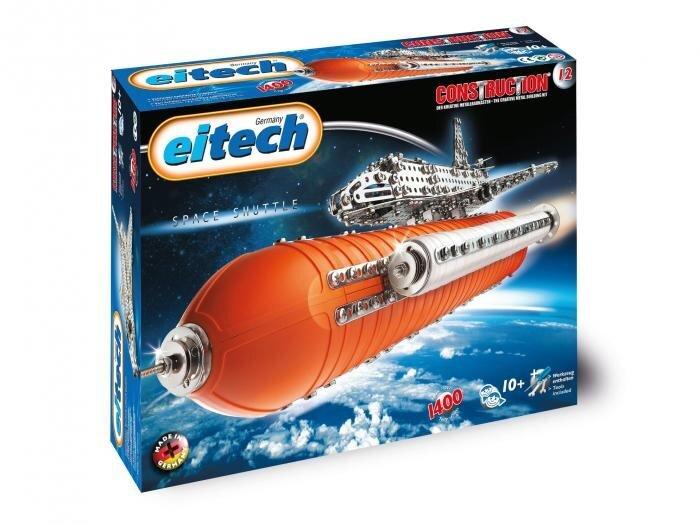 Konstruktors Eitech Space Shuttle C12 cena un informācija | Konstruktori | 220.lv
