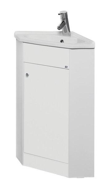 Vannas istabas stūra skapītis ar izlietni VA40K-1. cena un informācija | Vannas istabas mēbeles | 220.lv