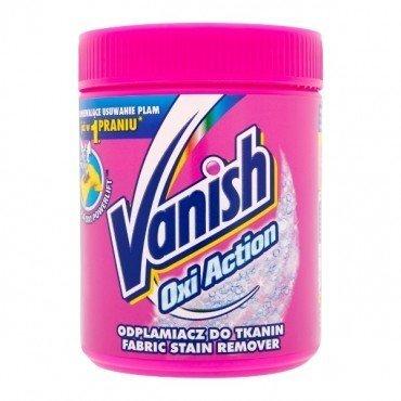 Pulveris traipu noņemšanai VANISH Oxi Action, 500g cena un informācija | Mazgāšanas līdzekļi | 220.lv