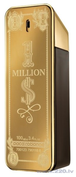 Туалетная вода Paco Rabanne 1 Million Dollar edt 100 мл цена и информация | Vīriešu smaržas | 220.lv