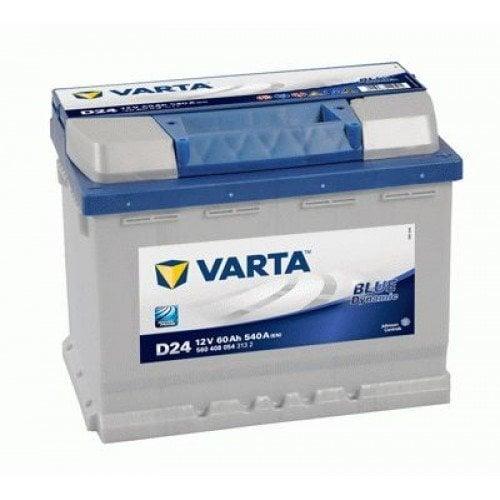 VARTA BLUE 60AH 540A D24 цена и информация   Akumulatori   220.lv