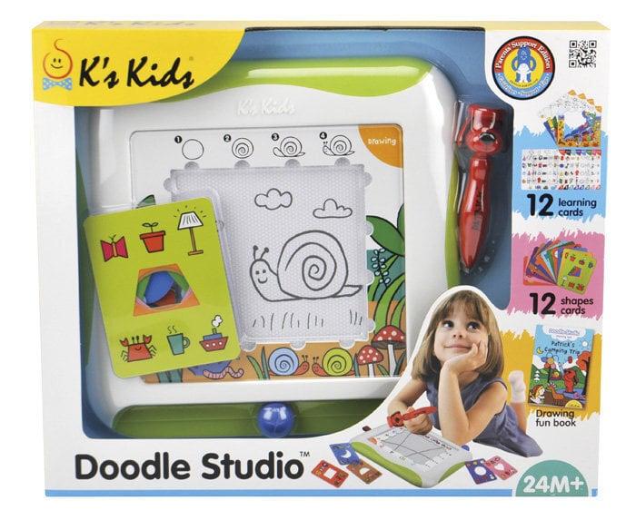 Izglītošā rotaļlieta K's Kids Doodle Studio cena un informācija | Zinātniskās un attīstošās spēles, komplekti radošiem darbiem | 220.lv