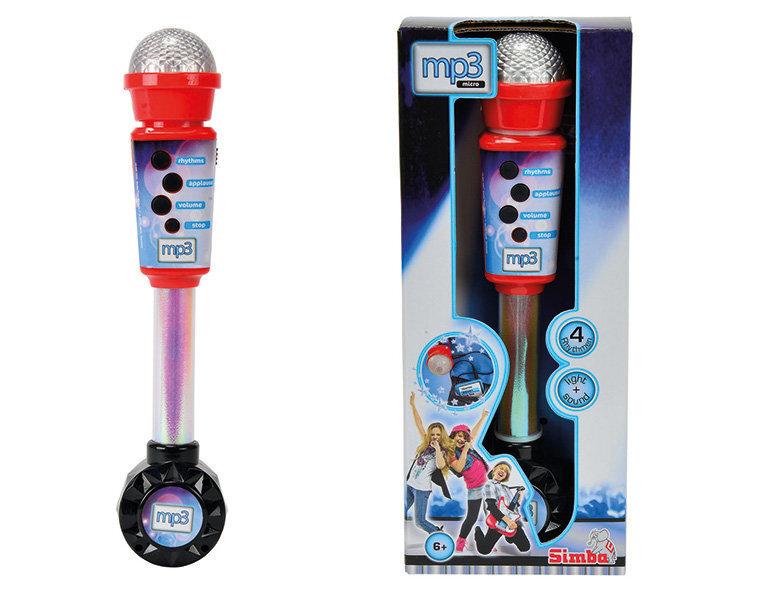 Mikrofons MP3 My music world Simba cena un informācija | Lomu spēles | 220.lv