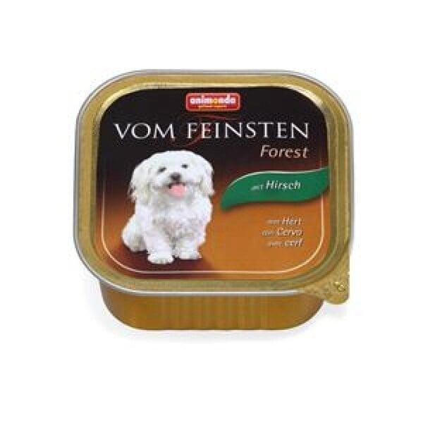 Konservi suņiem VOM FEINSTEN FOREST ar briedi cena un informācija | Konservi suņiem | 220.lv