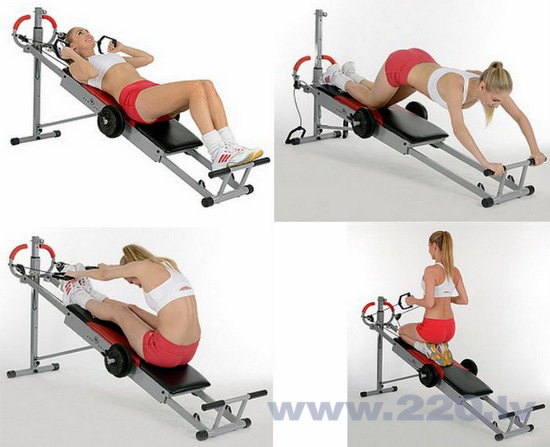 Fitnesa sols Christopeit Total Exerciser TE 1 cena un informācija | Kompleksie trenažieri | 220.lv