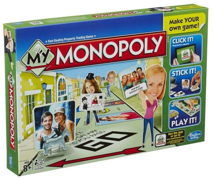 MY MONOPOLY (GB) cena un informācija | Galda un viesību spēles | 220.lv