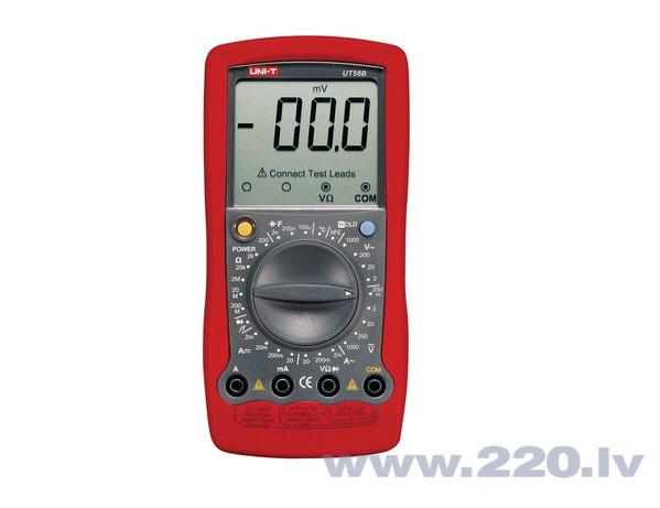 RMS multimetrs 750 V, UT58B cena un informācija | Instrumenti | 220.lv