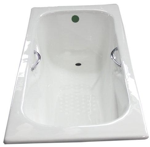 Vanna ar rokturiem Euroliux cena un informācija | Taisnstūra vannas | 220.lv