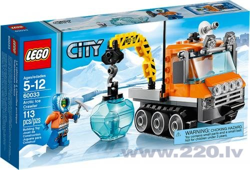Конструктор Lego City Arctic Ice Crawler V29 60033 цена и информация | LEGO | 220.lv