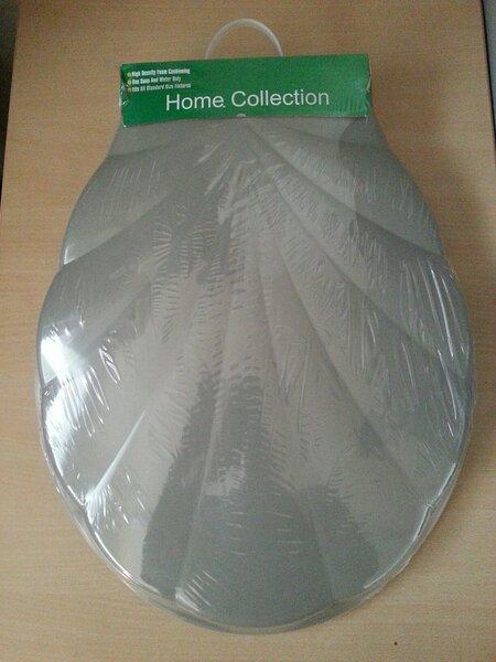 Пластмассовое сиденье для унитаза с крышкой Home Collection цена и информация | Podu vāki | 220.lv