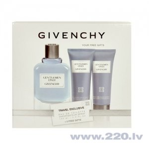 Комплект Givenchy Gentlemen Only: edt 100 мл + гель для душа 75 мл + бальзам после бритья 75 мл цена и информация | Vīriešu smaržas | 220.lv