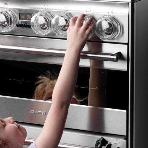 Clippasafe Plīts pogu aizsargs, 4 gab. cena un informācija | Bērna drošība | 220.lv