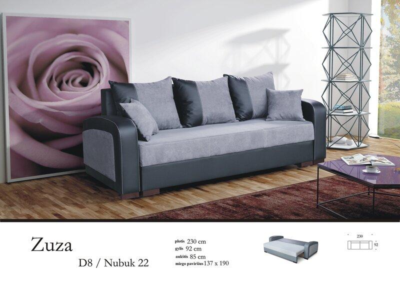 Диван Zuza цена и информация | Dīvāni un krēsli | 220.lv