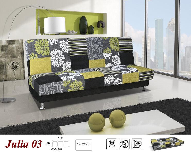 Диван Julia цена и информация | Dīvāni un krēsli | 220.lv