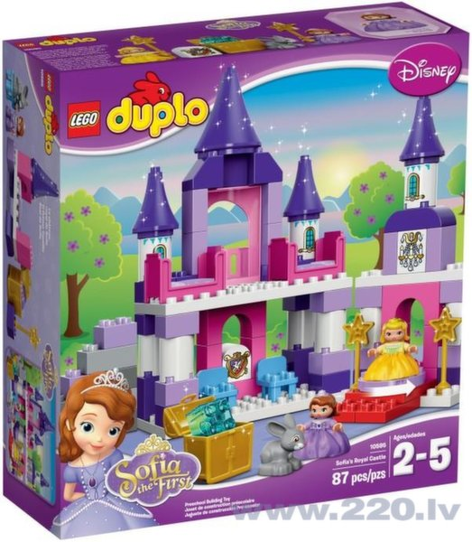 Конструктор  Lego Duplo Sofia the First Royal Castle цена и информация | LEGO | 220.lv