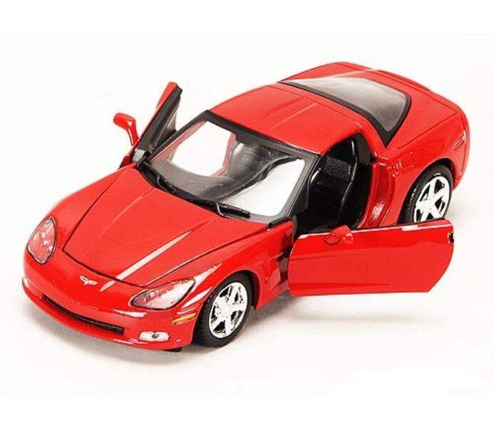 Mašīnas modelis MOTORMAX 1:24 2005 Corvette C6 73270RD cena un informācija | Mašīnas, vilcieni, trases, lidmašīnas | 220.lv