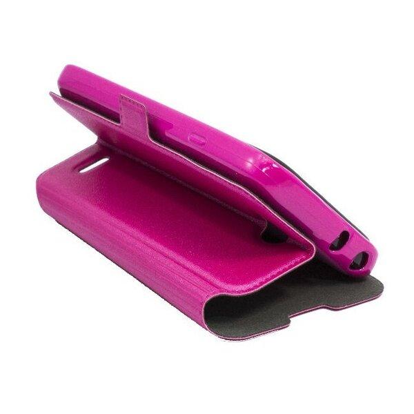 Atveramais maciņš Telone Super Slim Shine Book telefonam Sony Xperia Z3 Compact, Rozā cena un informācija | Maciņi, somiņas | 220.lv