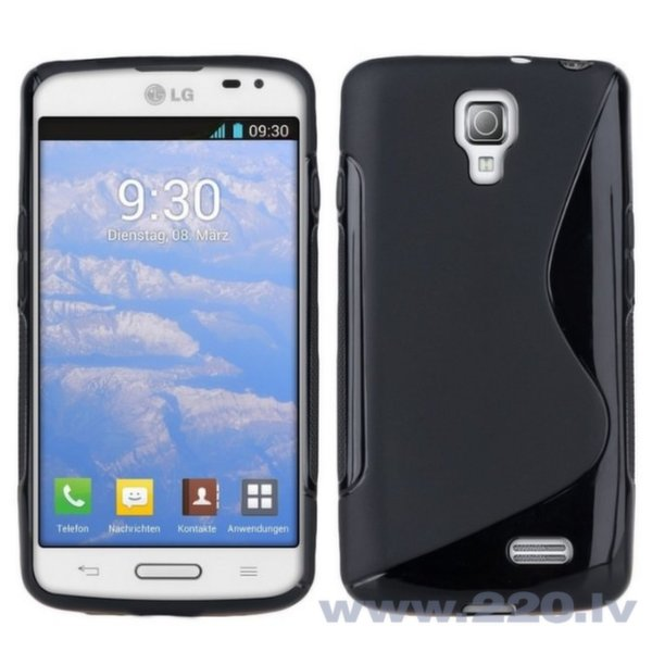 Telone Чехол для мобильного телефона LG F70 (D315), черный цена и информация | Maciņi, somiņas | 220.lv