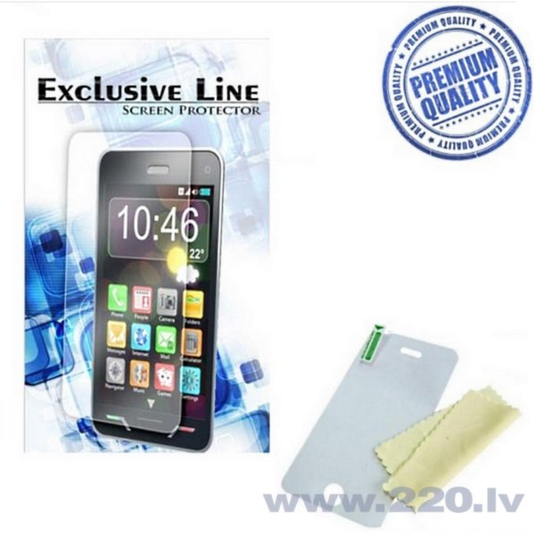 ExLine Samsung G900 Galaxy S5 ekrāna aizsargplēve Glancēta cena un informācija | Ekrāna aizsargplēves | 220.lv
