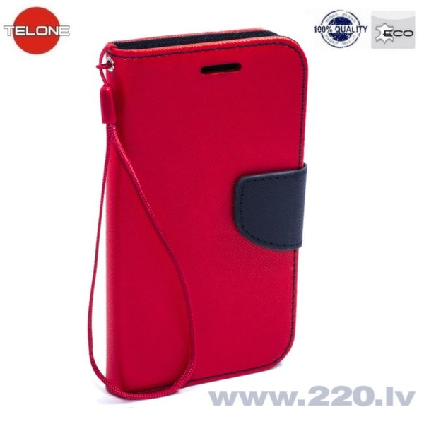 Telone Fancy Diary Book Case Samsung A500 Galaxy A5 Чехол-книжка со стендом Красный/Синий цена и информация | Maciņi, somiņas | 220.lv