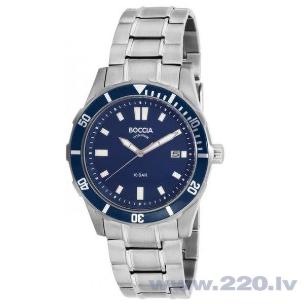 Vīriešu pulkstenis Boccia Titanium 3567-04 cena un informācija | Vīriešu pulksteņi | 220.lv
