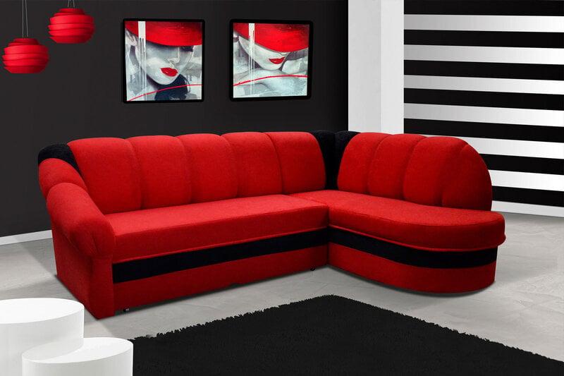 Mīksts stūra dīvāns Benano cena un informācija | Dīvāni un krēsli | 220.lv