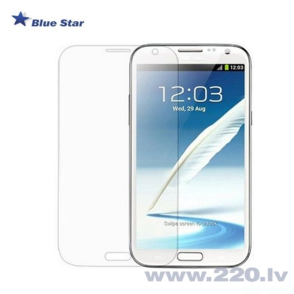 BS Tempered Glass 9H Extra Shock Защитная пленка-стекло Samsung N7100 Note 2 (EU Blister) цена и информация | Ekrāna aizsargplēves | 220.lv