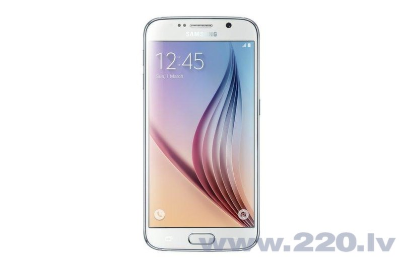 Samsung G920FD Galaxy S6 32GB Duos White (Balts) цена и информация | Mobilie telefoni | 220.lv