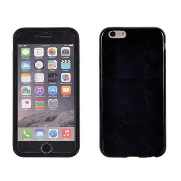 Telone Candy Супер тонкий 0.3мм силиконовый чехол для мобильного телефона Samsung Galaxy S6 Edge (G925), Чёрный цена и информация | Maciņi, somiņas | 220.lv