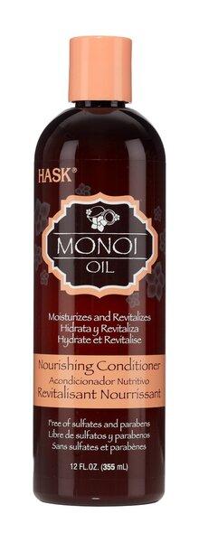 HASK NOURISHING COCONUT MONOI OIL kondicionieris 355 ml cena un informācija | Kondicionieri, balzāmi | 220.lv