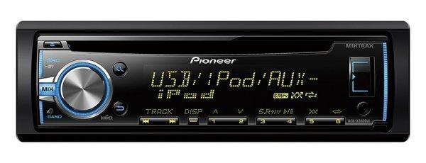 Pioneer DEH-X3800UI + Dāvanā Pioneer USB atmiņa cena un informācija | Auto magnetolas | 220.lv