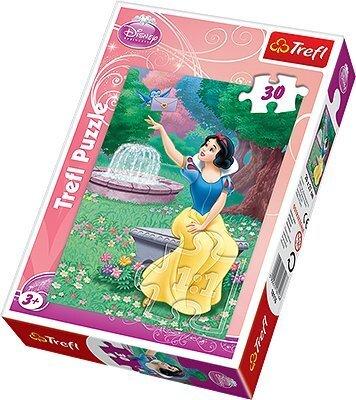 Trefl Puzzle Snow White, 30 gab. cena un informācija | Puzles, 3D puzles | 220.lv