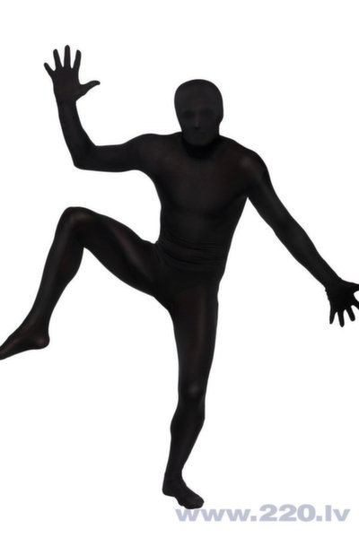 Otrās ādas melns kostīms cena un informācija | Karnevāla kostīmi, maskas un parūkas | 220.lv