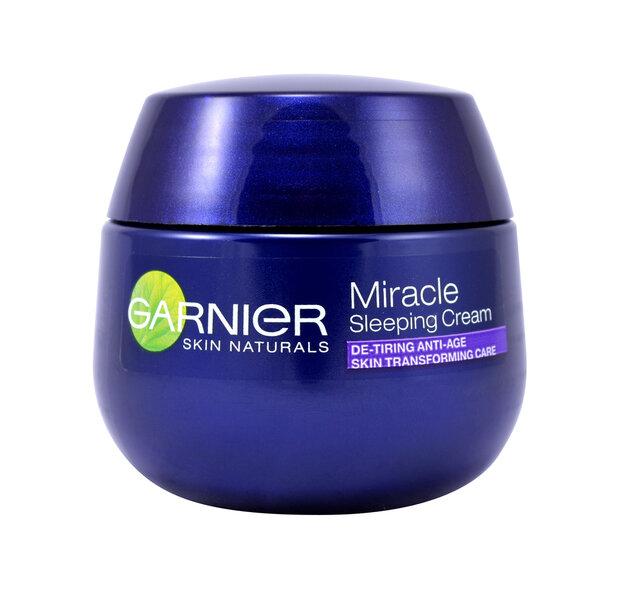 Garnier Skin Naturals Miracle Pretnovecošanās nakts miega krēms, 50 ml cena un informācija | Krēmi | 220.lv