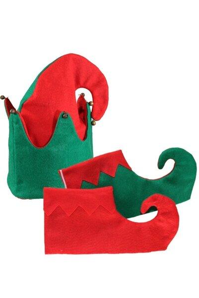 Elfa komplekts cena un informācija | Karnevāla kostīmi, maskas un parūkas | 220.lv