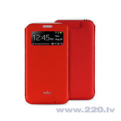 Чехол Puro для телефона Galaxy S4 mini (i9190), (PCCS4MINIVIEWRED) цена и информация | Maciņi, somiņas | 220.lv