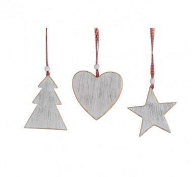 Ziemassvētku eglītes rotaļlieta 1 gb cena un informācija | Ziemassvētku dekori un eglīšu rotājumi | 220.lv