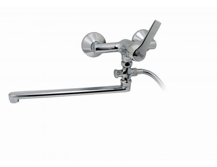 Смеситель для ванной Teka Inka 602 цена и информация | Vannas | 220.lv