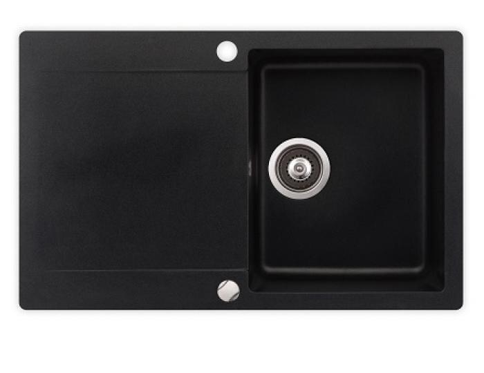 Virtuves izlietne no akmens masas Clivo 45 B-TG cena un informācija | Akmens masas izlietnes | 220.lv