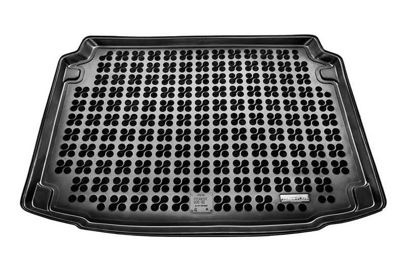 Gumijas bagāžas nodalījuma paklājiņš Peugeot 308 Hatchback 2007-2013 /231232 cena un informācija | Bagāžnieka paklājiņi pēc auto modeļiem | 220.lv