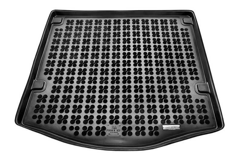 Gumijas bagāžnieka paklājiņš Ford FOCUS Sedan nestand.rez.rit.. 2011--> /230436 cena un informācija | Bagāžnieka paklājiņi pēc auto modeļiem | 220.lv