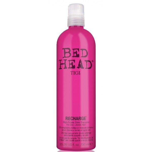 Šampūns matu mirdzumam Tigi Bed Head Recharge 750 ml cena un informācija | Šampūni | 220.lv