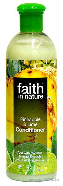 Kondicionieris Faith in Nature Pineapple & Lime cena un informācija | Kondicionieri, balzāmi | 220.lv