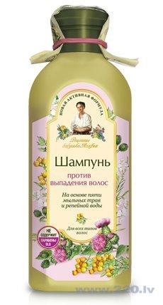 Šampūns pret matu izkrišanu Recepty Babuški Agafji 350 ml cena un informācija | Šampūni | 220.lv