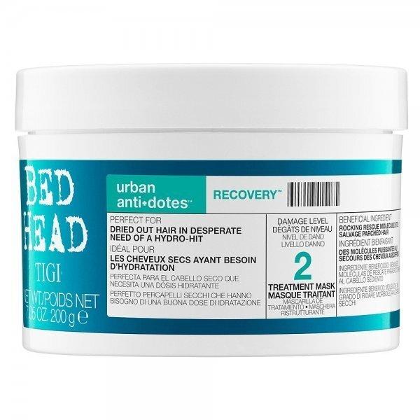 Atjaunojoša matu masku Tigi Bed Head Urban Antidotes Recovery 200 g cena un informācija | Matu uzlabošanai | 220.lv