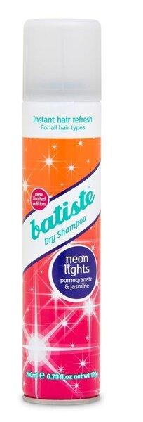 Sausais šampūns Batiste Neon Lights 200 ml cena un informācija | Šampūni | 220.lv