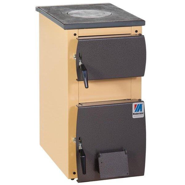 Котел - плита Moderator 5 kW цена и информация | Cietā, šķidrā kurināmā apkures katli | 220.lv