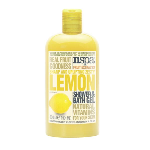 Citronu aromātu dušas želeja NSPA 500 ml cena un informācija | Mazgašanās līdzekļi | 220.lv