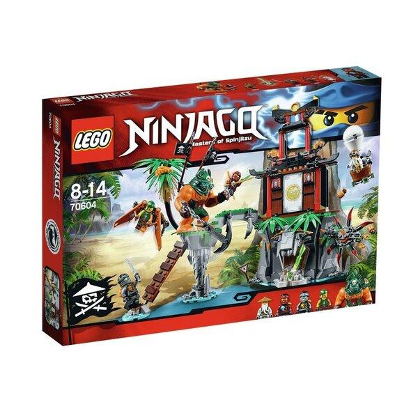 Konstruktors Lego Ninjago Tiger Widow Island 70604 cena un informācija | LEGO | 220.lv